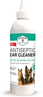 Stuart Pet Supply Co. Antiseptic Dog Ear Infection Treatment (12oz) -Veterinary Formulated-Veterinary Recommended for Head Shaking, Itching, Discharge & Smelly Ears 100%