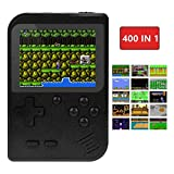 TAPDRA Handheld Game Machine, Retro Game with 400 Classic Games 3.0 inch Screen Portable Game Controller, Good Gifts for Kids, Xmas Gift