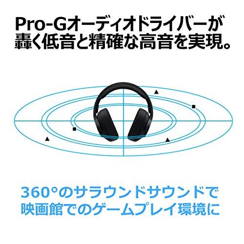 LogicoolGゲーミングヘッドセットG433BKブラックDolby7.1chノイズキャンセリングマイク付きPCPS4Switch3.5mmusb軽量G433国内正規品2年間メーカー保証