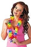 Boland Hawaii Blumenkette Rainbow zum Aloha Hula Südsee Kostüm für Damen und Herren
