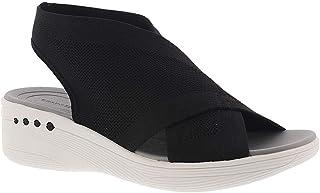 Evolve By Easy Spirit Pace Womens Sandal 10.5 B US Black M
