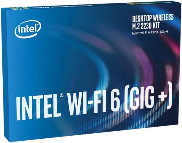 Wi-Fi 6 Gig+ Desktop Kit vPro shipfree 2x2 2230 AX+BT Super beauty product restock quality top AX200