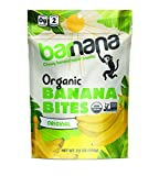 Barnana Organic Chewy Banana Bites - Original - 3.5 Ounce, 3 Pack Bites - Delicious Potassium Rich Banana Snacks - Lunch Dinner Sports Hiking Natural Snack - Whole 30, Paleo, Vegan