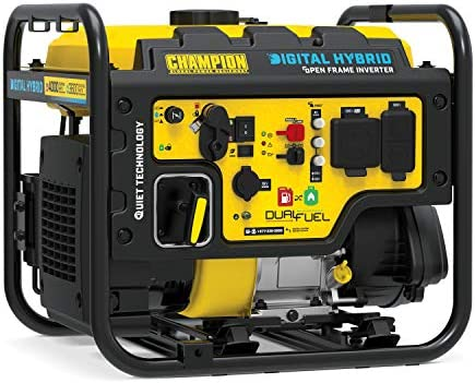 Champion Power Equipment 100574 4000 Watt RV Ready Digital Hybrid Inverter Generator with Dual product image