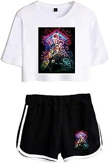 LANDENG Pantaloni per Bambini Pantaloni Hippy per Lo Yoga con Stampa Digitale 3D Hippie Estate Beachwear Party Harlan Sciolto Boemia per 6-12 Anni Fitness per Ragazzi e Ragazze