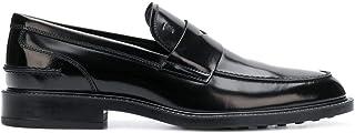 Luxury Fashion | Tod's Men XXM45A00640AKTB999 Black Leather Loafers | Season Permanent