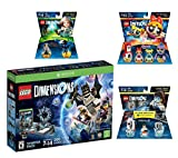 Lego Dimensions Starter Pack + PowerPuff Girls Team Pack + Portal 2 Level Pack + Fantastic Beasts Tina Goldstein Fun Pack for Xbox One