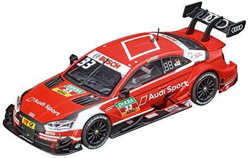 Carrera Evolution 1: 32 Scale Analog Slot Car Racing Vehicle - 27601 Audi RS 5 DTM R. Rast #33