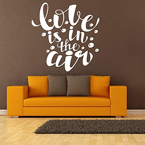 Etiqueta De La Pared Arte Etiqueta De La Pared Vinilo Decoración De La Pared Dormitorio Romántico Amor Burbuja Patrón Romántico Extraíble 30X30 Cm