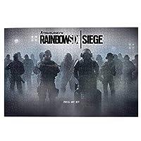 パズル 1000ピース 人気 アニメパズル 大型木製 パズルおもちゃギフト創造的な減圧diyチャレンジアート画像レインボーシックス シージ Rainbow Sig Siege