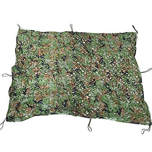 QIANMEI Tarnnetz Camouflage Netz, Tarnnetze Woodland Camo Geeignet for Camping Jagd Schießen Sonnencreme Camouflage Party Dekoration (Color : A, Size : 1.5x2.5m)