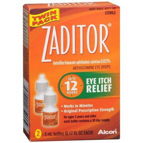 Zaditor Antihistamine Eye Drops Twin Pack (2...