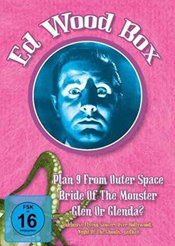 Ed Wood Box (Plan 9 from outer Space, Glenn or Glenda?, Bride of the Monster + Bonusmaterial)(OmU) [3 DVDs] [Alemania]