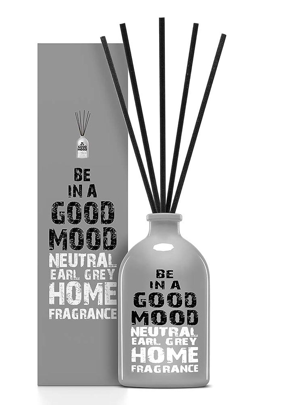 刺繍イタリアの困惑したBE IN A GOOD MOOD ルームフレグランス スティック タイプ EARL GREYの香り (100ml)