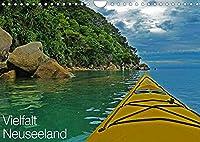 Vielfalt Neuseeland (Wandkalender 2022 DIN A4 quer): Reichtuemer der Natur Aotearoas - dem Land der langen weissen Wolke (Monatskalender, 14 Seiten )