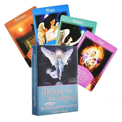 Rikey - Ramo de tarot 44 - Mensajes de tus ángeles: cuáles son tus ángeles Carte Oracle approachable 2019 frugal