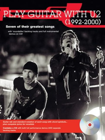 Partition : U2 Play Guitar with 1992-2000 (+ CD)