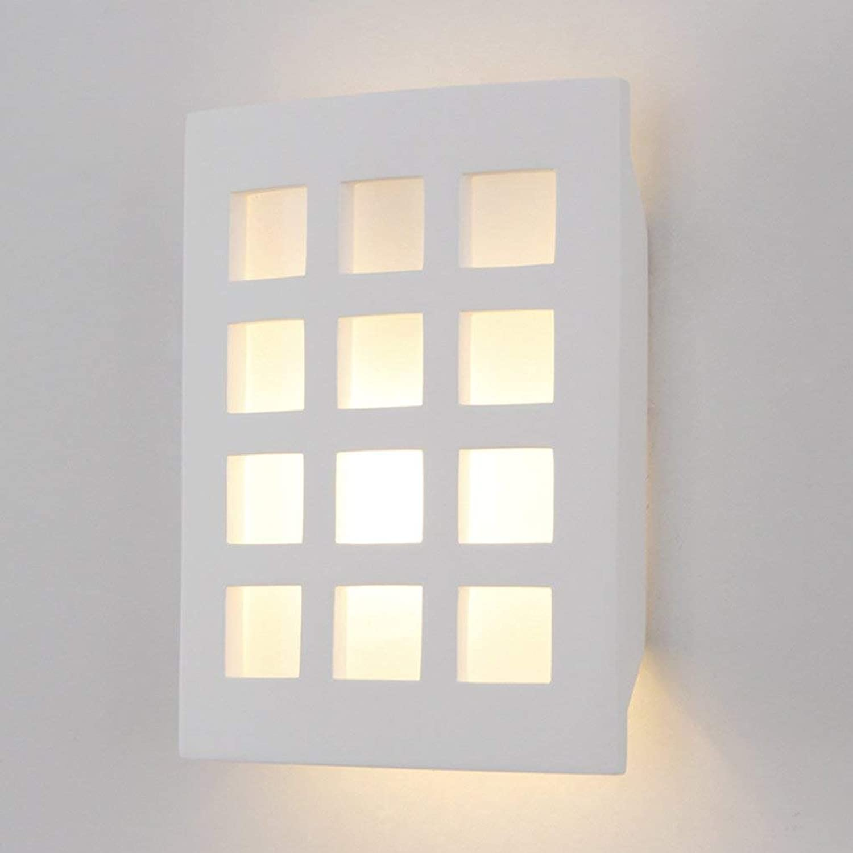 CN CN CN Kreative Wandleuchte Nordic Wohnzimmer Studie Schlafzimmer Nachttischlampe Europäischen Kunst Rechteckige Wandleuchte B07JX5KDCV | Große Klassifizierung  7be38a