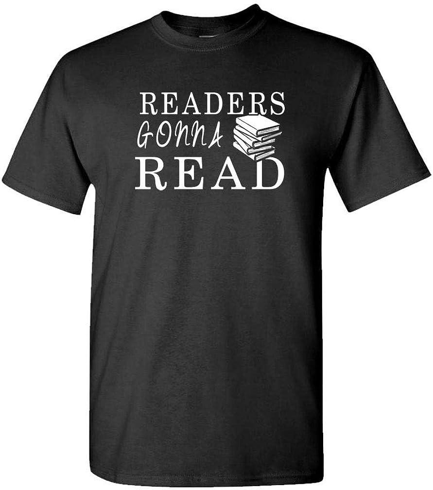 Guacamole Readers Gonna Read - Bookworm Book Worm - Mens Cotton T-Shirt