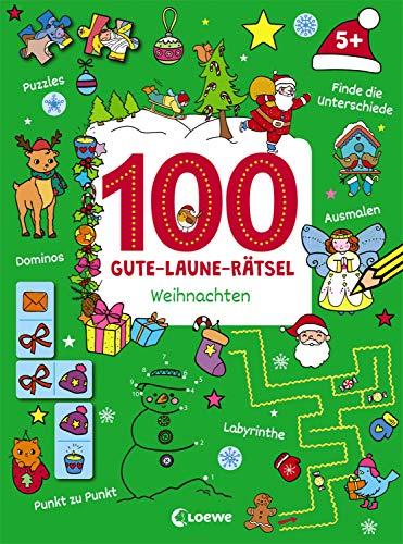 100 Gute-Laune-Rätsel - Weihnachten: ab 5 Jahre