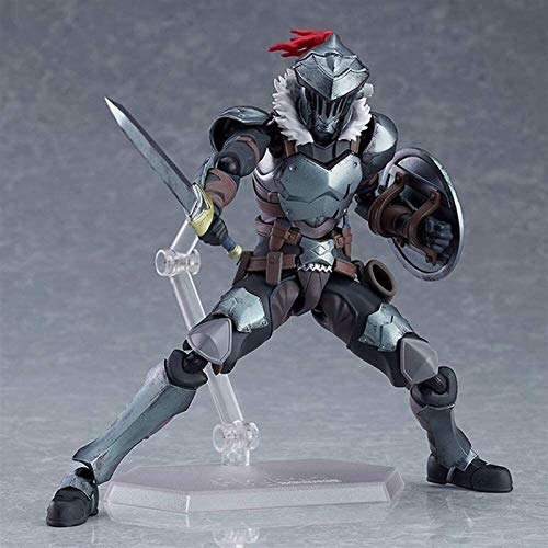 CJYVV 15cm Goblinslayer Anime Figure Japanese Classic Anime Goblin Slayer Figma Animations Character Model Cartoon Character Toy Doll Surprise Gift for Anime Lovers