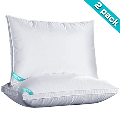 HOMYSNUG Bed Pillows, Pillows for Sleeping 2pac...