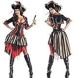N\C Vestido De Halloween, Piratas del Caribe, Uniforme Tentación, Cosplay