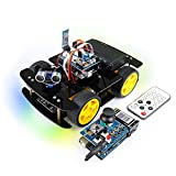 This is a car that can work in different modes: line tracking mode, obstacle avoidance mode and manual driving mode. Overview video -> https://youtu.be/VLSJH5UFz1A Provide detailed step-by-step assembly tutorial and complete code. Download link -> ht...