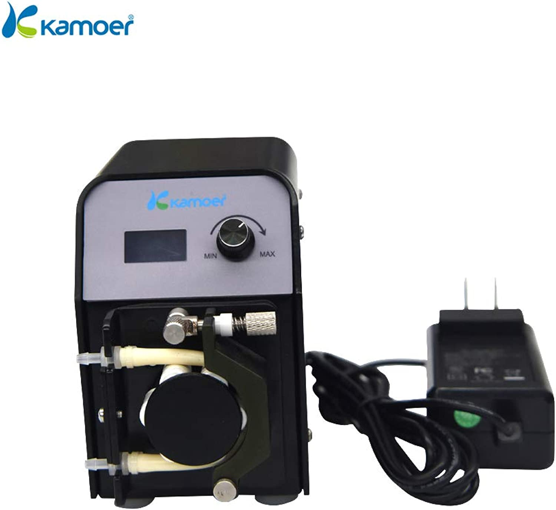 Kamoer FXSTP Peristaltic Pump (Aquarium Calcium Reactor Pump,BPT Tube 3.2mm6.4mm,6rollers)