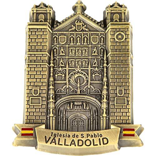 MovilCom® - iman Nevera Valladolid| Figuras magneticas | imanes Nevera Valladolid | diseño Exclusivo Recuerdo de Valladolid (Mod.023)