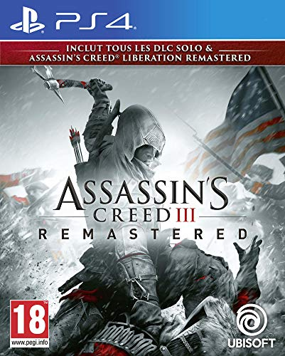 Assassin's Creed 3 Pack + Assassin's Creed Liberation Remaster Juegos de PS4
