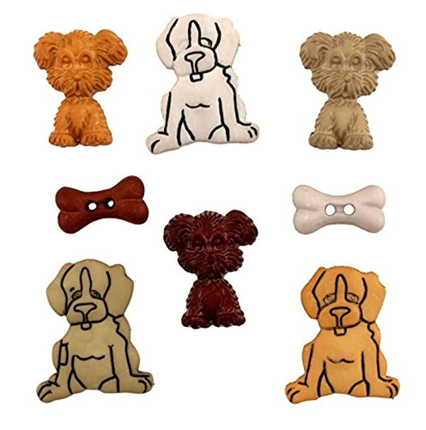 Buttons Galore Pets Puppy Love Button Pack