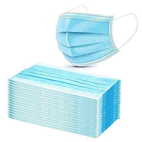50x OP-Masken CE EN14683 Typ IIR Mundschutz Einwegmaske Atemschutzmaske bis zu 99% Filterleistung