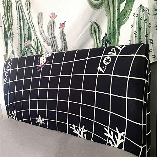 European Fabric Stretch Kopfteil Staubschutz All-inclusive-Bett Soft Pack Bettrückenschutz Waschbar,elk