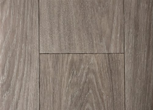 PVC-Bodenbelag XL Holzdielenoptik Rustikal Altholz | Vinylboden in 4m Breite & 2m Länge | Fußbodenheizung geeignet e PVC Planken | Stark strapazierfähiger Fußboden-Belag | Made in Germany