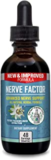 Nerve Factor - Advanced Liquid Nerve Support Supplement - Help Support Blood Flow and Calm Relaxation - Turmeric, B-Vitami...