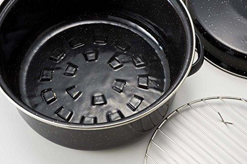パール金属『いろりやホーローやきいも鍋22cm(H-2650)』