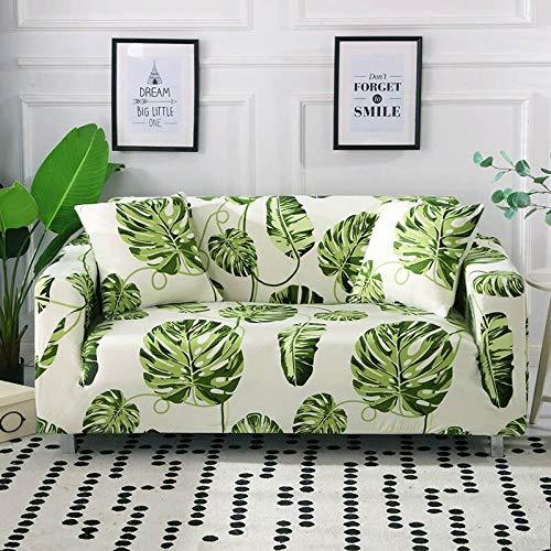 ASCV Funda de sofá de línea Irregular Funda de sofá elástica de algodón Fundas de sofá elásticas para Sala de Estar A9 3 plazas