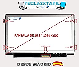 TECLA2XTATIL TC2X Pantalla Compatible de y para portatil Acer Aspire One D255 10,1