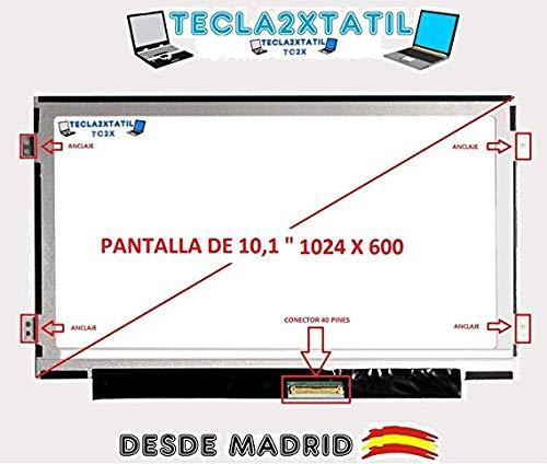 TECLA2XTATIL TC2X Pantalla Compatible de y para portatil Acer Aspire One D255 10,1' WSVGA 1024X600 LED LCD 40 Pin Ver Foto