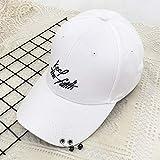 Sombrero Masculino versión Coreana de la Gorra de béisbol Anillo de cinturón de Moda Gorra de la Torre Todo-fósforo Estudiante Calle Hip-Hop Gorra Juvenil