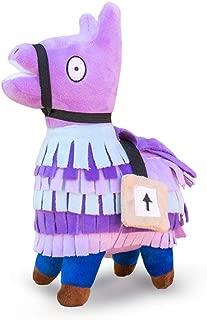 Wepop Loot Llama Plush Stuffed Toy Doll Firgure, Troll Stash Animal Alpaca Gift with Keychain