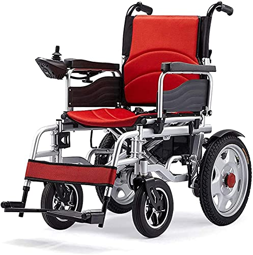 MQJ Walker Eléctrico para Sillas de Ruedas Plegable Linterna Portátil Doble Uso de Scootes para Sillas de Ruedas Eléctrica para Ancianos Y Discapacitados