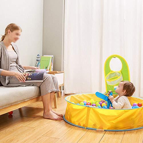 DAUERHAFT Carpa de plástico Duradera para Piscina Carpa de Playa Anti-UV portátil Resistente al Desgaste para bebés y niños para Exteriores