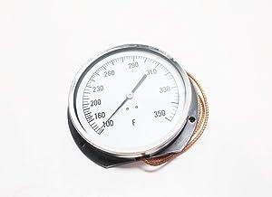 Miljoco Corporation PB3008L04250 Pressure//Temp indicator dial 0-60 psi and kPA 80
