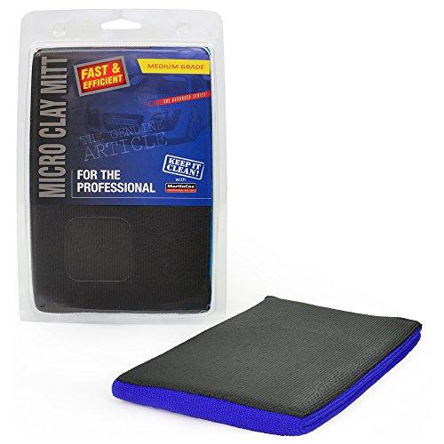 Gant d'argile de qualité moyenne – Décontamination de la peinture – Élimine les contaminants liés à la surface.