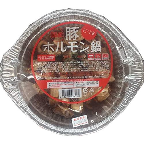 ミート丸真 国産 ピリ辛豚ホルモン鍋 250g(冷凍)