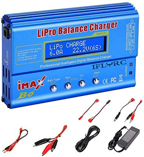 Battery Charger Li ion Balance B6 Blue