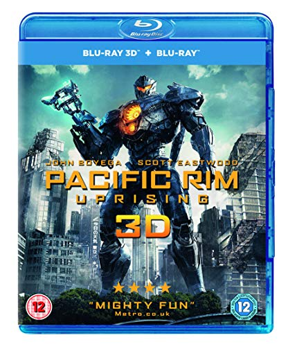 Pacific Rim: Uprising (3D Blu-Ray) (2 Blu-ray) [Edizione: Regno Unito] [Reino Unido] [Blu-ray]