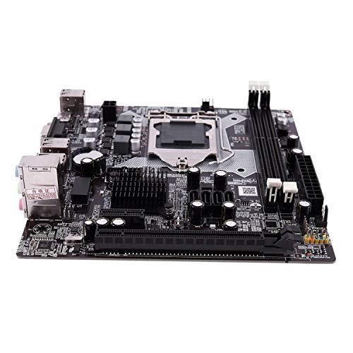 Yongenee H81 LGA 1150 Socket LGA1150 Imagen Placa Base Micro-ATX de sobremesa USB 2.0 SATA2.0 Doble Canal 32 GB DDR3 1600 for Intel Herramientas